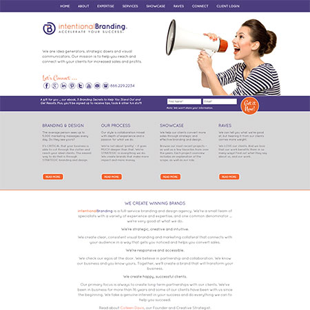Boutique Marketing Firm Website