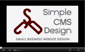 Simple CMS Design - Small Business Web Design